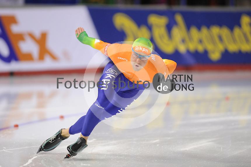 SCHAATSEN: CALGARY: Olympic Oval, 08-11-2013, Essent ISU World Cup, 500m, Michel Mulder (NED), ©foto Martin de Jong