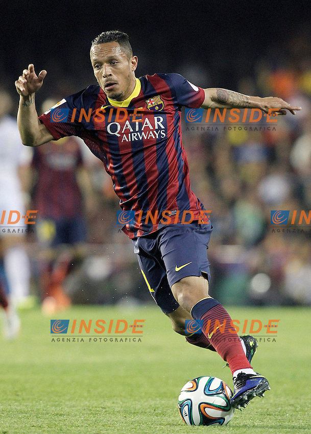 FC Barcelona's Adriano Correia during spanish KIng's Cup Final match.April 16,2014. (ALTERPHOTOS/Acero) <br /> Finale Coppa del Re<br /> Real Madrid Barcellona <br /> Foto Insidefoto