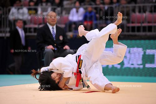 Haruna Asami (-48kg), APRIL 3, 2011 - Judo : All Japan Selected Judo Championships Weight Distinction during Women's -48kg at Fukuoka Convention Center, Fukuoka, Japan. (Photo by Jun Tsukida/AFLO SPORT) [0003] ...