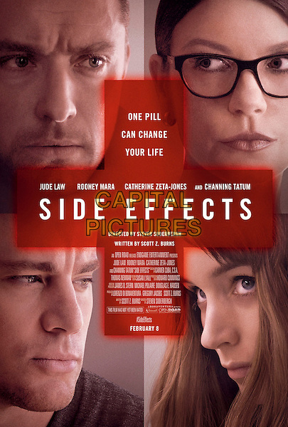 POSTER ART.in Side Effects (2013) .*Filmstill - Editorial Use Only*.CAP/FB.Supplied by Capital Pictures.