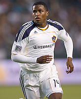 LA Galaxy forward Edson Buddle (14) moves to the goal. The LA Galaxy and Toronto FC played to a 0-0 draw at Home Depot Center stadium in Carson, California on Saturday May 15, 2010.  .