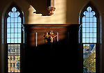 10.12.12 Oak Room Crucifix 1.JPG by Matt Cashore/University of Notre Dame
