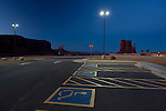 The Monument Valley Parking Lot in Arizona