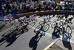 ORIG./Ryan Brenencke/The Bulletin/07-24-10..Riders navigate a corner while competing in Stage 4 of the Cascade Cycling Classic held in Downtown Bend on Saturday.