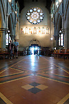 Inside Christchurch Cathedral, Christchurch, New Zealand