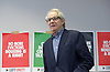 Ken Loach, director of Cathy Come Home launches Left Unity's 2015 manifesto in a Soho squat in Ingestre Court, Ingestre Place, Soho, London, Great Britain <br /> 31st March 2015 <br /> <br /> <br /> Ken Loach <br /> <br /> <br /> Photograph by Elliott Franks <br /> Image licensed to Elliott Franks Photography Services