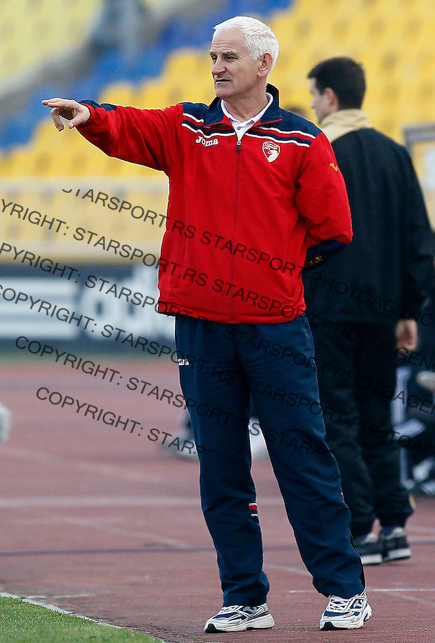 Fudbal, Jelen super liga, season 2011/2012.Partizan Vs. Radnicki 1923.Head coach Slavenko Kuzeljevic.Beograd, 03.11.2011..Srdjan Stevanovic/Starsportphoto ©
