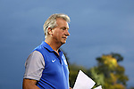 27 October 2016: Duke head coach Robbie Church. The Duke University Blue Devils hosted the Clemson University Tigers at Koskinen Stadium in Durham, North Carolina in a 2016 NCAA Division I Women's Soccer match. Clemson won the game 1-0.