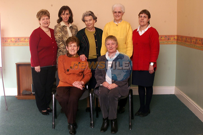 Joan Scanlan, Jill Farrelly, Francis Clarke, Bridie Conway, and Nora O'Connorah and in front Olive Curran and Kay Duffin commitee members of the citizens information centre..pic: Newsfile