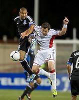 Santa Clara, Ca - March 10, 2012: The San Jose Earthquakes defeated the New England Revolution 1-0 at Buck Shaw Stadium.