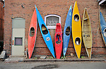 Old boats line an alley in Sailda. Michael Brands for The New York Times.