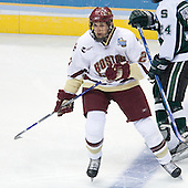 Andrew Orpik (Boston College - East Amherst, NY) - The Michigan State Spartans defeated the Boston College Eagles 3-1 (EN) to win the national championship in the final game of the 2007 Frozen Four at the Scottrade Center in St. Louis, Missouri on Saturday, April 7, 2007.