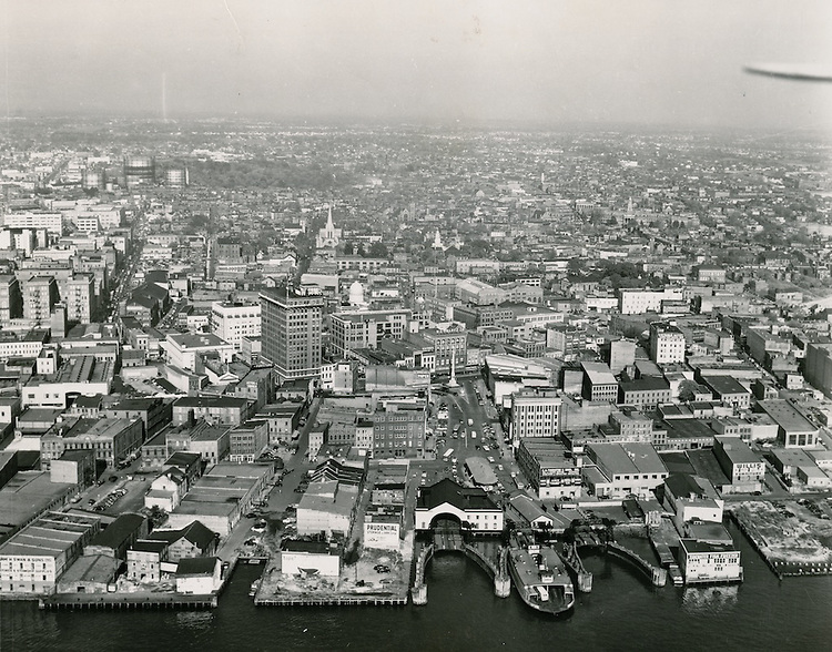 1951 August 20..Redevelopment...Downtown South (R-9)..Looking North at Waterfront..ACME Photo.NEG# 21058-6, copy MDA72-80-1.NRHA# 714..