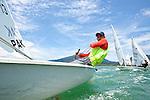 ISAF Emerging Nations Program, Langkawi, Malaysia.<br />Muhammad Uzair from Pakistan.<br />Laser, Sail Number: PAK 13
