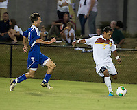 Winthrop University Eagles vs the Brevard College Tornados at Eagle's Field in Rock Hill, SC.  The Eagles beat the Tornados 6-0.  C.J. Miller (5)