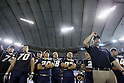 "Obic Seagulls team group (Seagulls), JANUARY 3, 2012 - American Football : American Football Japan Championship ""Rice Bowl"" between Obic Seagulls 38- 28 Kansei Gakuin University Fighters at Tokyo Dome, Tokyo, Japan. (Photo by Yusuke Nakanishi/AFLO SPORT) [1090]"