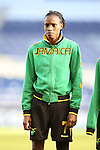 16 October 2014: Venicia Reid (JAM). The Jamaica Women's National Team played the Martinique Women's National Team at Sporting Park in Kansas City, Kansas in a 2014 CONCACAF Women's Championship Group B game, which serves as a qualifying tournament for the 2015 FIFA Women's World Cup in Canada. Jamaica won the game 6-0.