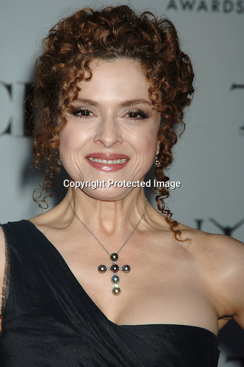 Bernadette Peters..arriving at the 60th Annual Tony Awards on June11, 2006..at Radio City Music Hall. ..Robin Platzer, Twin Images