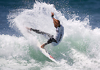 Kelly Slater. 2009 ASP WQS 6 Star US Open of Surfing in Huntington Beach, California on July 23, 2009. ..