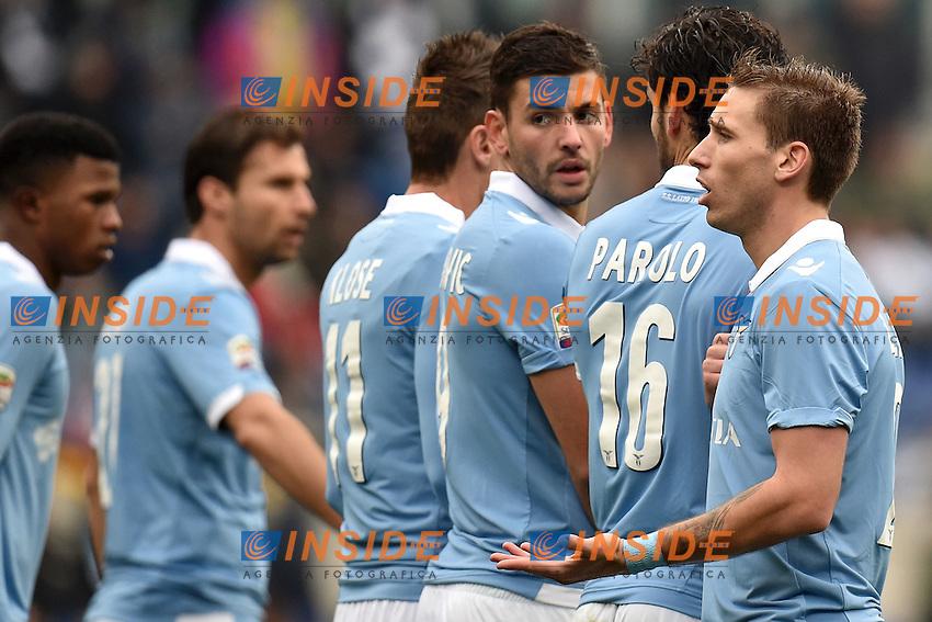 Lucas Biglia Lazio <br /> Roma 18-01-2015 Stadio Olimpico, Football Calcio Serie A Lazio - Napoli. Foto Andrea Staccioli / Insidefoto