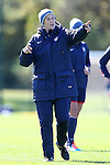 14 October 2014: U.S. head coach Jill Ellis. The United States Women's National Team held a training session on the stadium field at Swope Park Soccer Village in Kansas City, Missouri in preparation for the CONCACAF Women's World Cup Qualifying Tournament for the 2015 Women's World Cup in Canada.