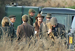 ©Albanpix.com-Picture by Jerry Daws.Prince William and Kate Middleton on a  phesant shoot .on the Sandringham estate,Norfolk.02-12-06.