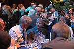 St Johnstone Hall of Fame Dinner, Perth Concert Hall...05.10.13<br /> St Johnstone Director Charlie Fraser (centre)<br /> Picture by Graeme Hart.<br /> Copyright Perthshire Picture Agency<br /> Tel: 01738 623350  Mobile: 07990 594431