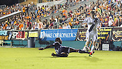 Carolina Railhawks vs. L.A. Galaxy at Wake Med. Soccer Park in Cary, N.C., Wed., May 29, 2012. The Railhawks defeated the Galaxy 2-0 in the third round of the Lamar Hunt U.S. Open Cup.