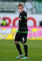 Fussball 1. Bundesliga :  Saison   2012/2013   9. Spieltag  27.10.2012 SpVgg Greuther Fuerth - SV Werder Bremen Kevin De Bruyne (SV Werder Bremen)