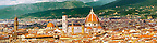 Panorama of Florence, Italy. High Resolution.