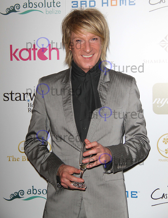 Ian Carmichael; Celebrity and Royal Hairdresser 80s Feelgood Ball, Sheraton Park Lane Hotel, Piccadilly, London, UK, 11 February 2011: Contact: Ian@Piqtured.com +44(0)791 626 2580 (Picture by Richard Goldschmidt)