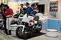 Mar 25, 2012 - Tokyo, Japan - Concept model Honda Japan Police?s motorbike exhibited at the 39th Tokyo Motorcycle Show, Tokyo Big Sight on March 25, 2012. This is the largest motorcycle exhibition in Japan, from March 23 to 25 this year.