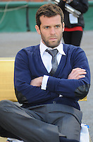 DC United Assistant Head Coach Ben Olsen.    DC United defeated The Seattle Sounders 2-1 at  RFK Stadium, Wednesday May 4, 2011.