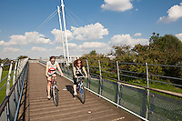 Millennium bridge, Newark on Trent, Nottinghamshire