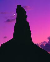 Bottleneck Peak & Moon, Sids Mountain Wilderness Study Area, Utah  Propsoed San Rafael Wilderness