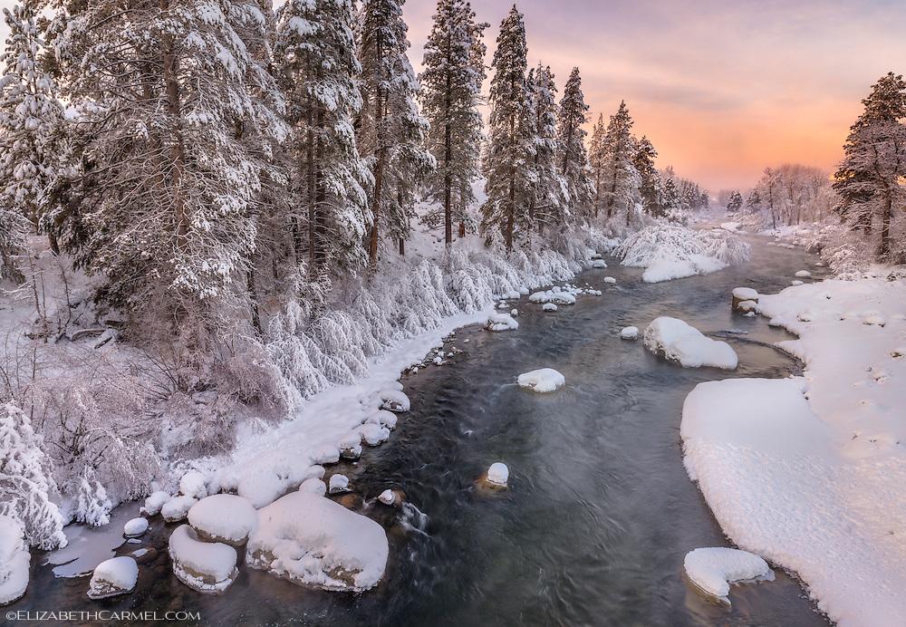 Truckee River Sunrise