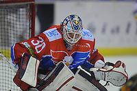 IJSHOCKEY: HEERENVEEN: 19-01-2014, IJsstadion Thialf, UNIS Flyers -Tilburg Trappers, uitslag 1-4, goalie Martijn Oosterwijk (Flyers | #30) ©foto Martin de Jong