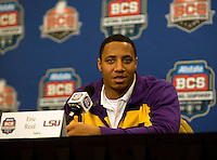 BCS Championship - LSU Defensive Press Conference January 05 2012