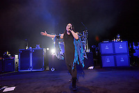 MIAMI BEACH, FL - NOVEMBER 13: Amy Lee of Evanescence performs on stage at Fillmore Miami Beach on November 13, 2016 in Miami Beach, Florida. Credit: MPI10 / MediaPunch