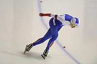 SPEEDSKATING: CALGARY: Olympic Oval, 25-02-2017, ISU World Sprint Championships, 1000m Men, Mikhail Kazelin (RUS), ©photo Martin de Jong
