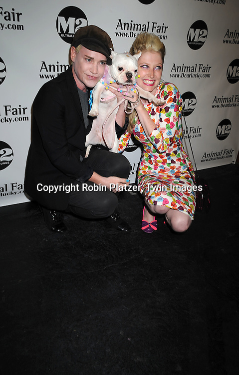 Richie Rich and Amanda Dolan her dog Pearl