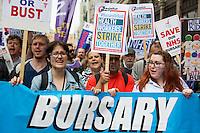 "04.06.2016 - ""Save Our Bursary"" Demonstration - #BursaryOrBust"