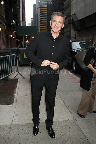NEW YORK, NY - OCTOBER 4: Craig Ferguson at the Ed Sullivan Theater for an appearance on Late Show with David Letterman in New York City. October 4, 2012. © RW/MediaPunch Inc.