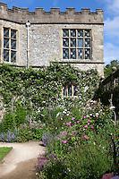 Summer border in the Lower Garden at Haddon Hall