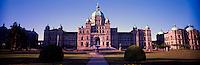 Victoria, BC, Vancouver Island, British Columbia, Canada - BC Parliament Buildings, Panoramic View