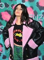 NEW YORK, NY - OCTOBER 19: Charlie XCX attends KENZO x H&M - Arrivals at Pier 36 on October 19, 2016 in New York City. Credit: John Palmer / MediaPunch