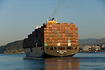 California: Container shipping at Port of Oakland. Photo copyright Lee Foster. Photo # casanf78982