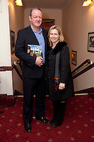 """NO REPRO FEE. 17/1/2010. The Field opening night. Mick and Joan Galway are pictured at the Olympia Theatre for the opening night of John B Keanes 'The Field"""" Picture James Horan/Collins"""