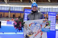 SCHAATSEN: BERLIJN: Sportforum Berlin, 06-12-2014, ISU World Cup, Jenny Wolf (GER), ©foto Martin de Jong