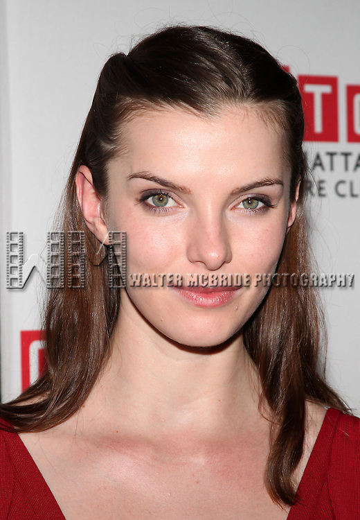 Betty Gilpin.attending the Opening Night Party for the MTC's Production of  'We Live Here' at the Beacon Restaurant in New York City.